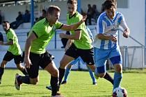 Fotbalisté Dynama Nelahozeves prohráli v Sedlci-Prčicích 0:3.