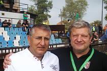 Zatímco kosteleckému trenérovi Josefu Balogovi derby v Brandýse zhořklo, jeho domácímu protějšku Karlu Zajacovi vydržel úsměv až do závěrečného hvizdu.