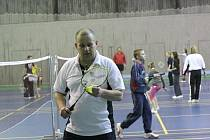 Mělnická hala BIOS patří od nového roku badmintonu
