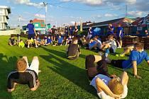 Společných tréninků Pšovky se účastní na tři desítky hráčů, trenér Studený je s jejich přístupem velmi spokojený.