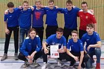 Mladší dorost obsadil na turnaji v Německu páté místo.