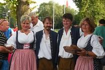 Do Velkého Borku přijeli slovenští fotbalisté a sehráli přátelská utkání se starou gardou a domácím výběrem