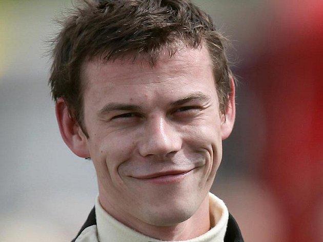 Automobilový závodník Tomáš Pekař