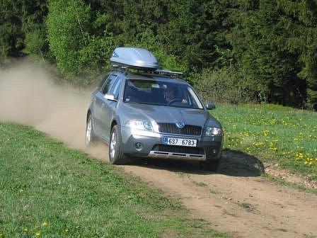 Nová Škoda Octavia Scout.