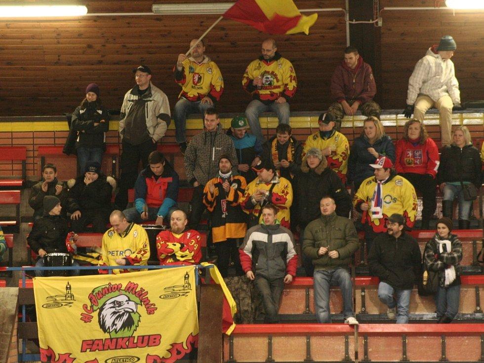 Krajská liga, 2. čtvrtfinále: Mělník - M. Boleslav B