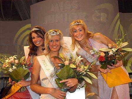 foto z Miss junior ČR. Kdo se stane Miss Mělník se však ještě neví.