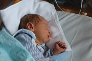 Kryštof Machýček, Mělník. Narodil se 8. 4. 2019, po porodu vážil 4270 g a měřil 54 cm. Rodiče jsou Lucie a Lukáš Machýčkovi.