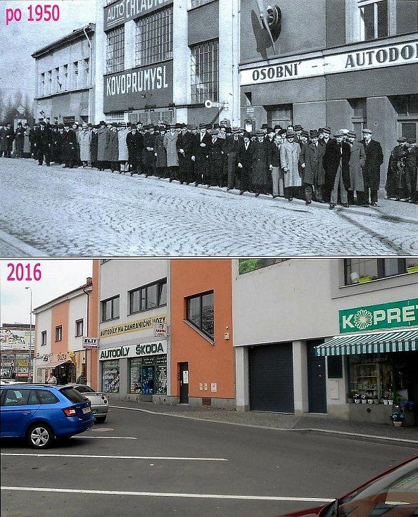 Znovu Jiráskova ulice.