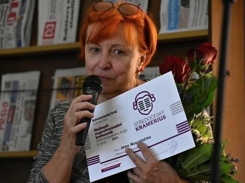 Věra Novotná, manželka ledčického knihovníka Jana Novotného.