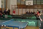 Vánoční turnaj ve stolním tenisu ve Mšeně