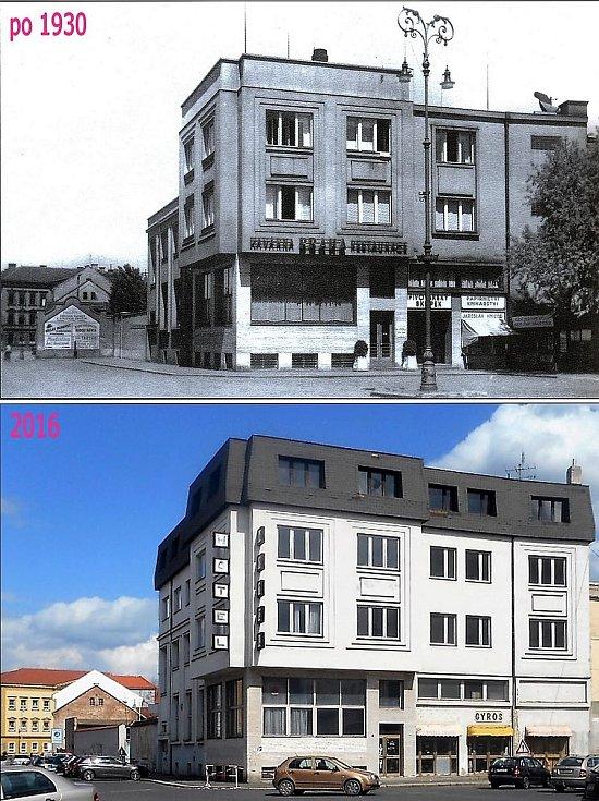 Kavárna Praha, postavená v roce 1933.