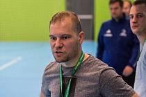 Jakub Němec, trenér futsalistů Olympiku Mělník.
