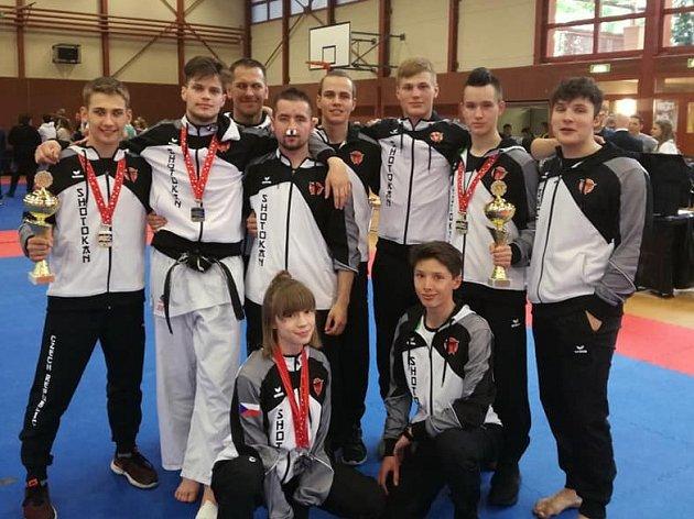 Karatisté SK Shotokan na Fujimura Ippon Shobu Cup Swiss 2019