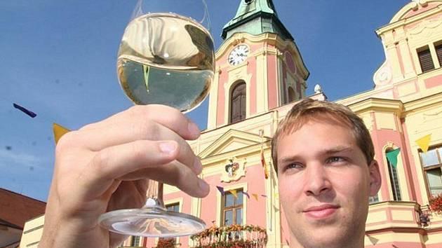 Vinobraní na Mělníku. Ilustrační foto