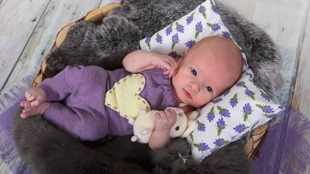 Sofie Koblížková, Mělník. Narodila se 1. října 2019, po porodu vážila 3 490 kg a měřila 50 cm. Rodiči jsou Karolína a Tomáš Koblížkovi.