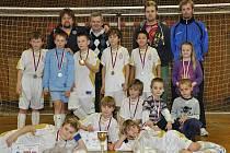 Vítězný tým FC Lobkovice.