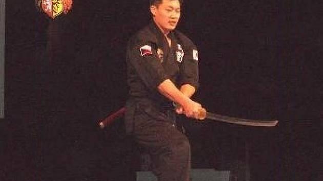 MISTR. Na akci se dětem představil i Korejec Lee Youn Jea, který v taekwondu patří mezi nejlepší na světě.