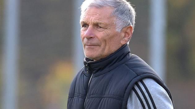 Fotbalový trenér Václav Hradecký