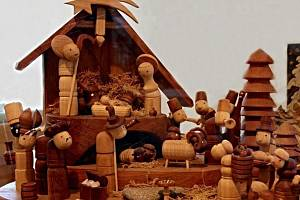 Vánoční výstava betlémů v Kralupech nad Vltavou.