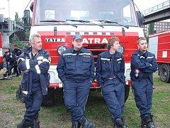 Dobrovolní hasiči z Kralup nad Vltavou