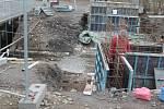 Ze stavby mělnické cyklostezky, která bude navazovat na cyklostezku Labskou.