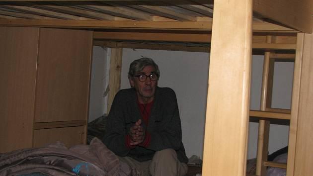 Azylový dům v Mělníku poskytuje nocleh bezdomovcům