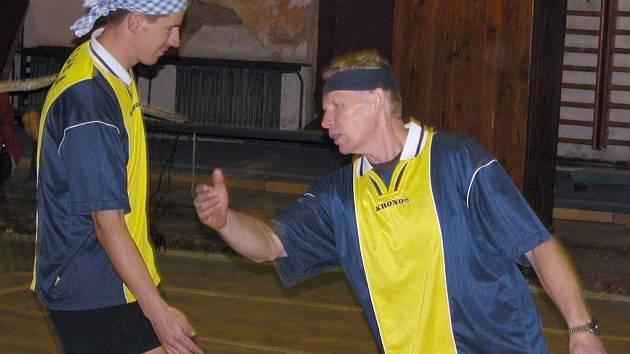 Nohejbalový turnaj ve Všetatech