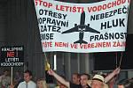 Veřejné projednání Letiště Vodochody v pražských Letňanech.