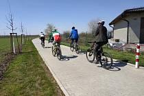 Otevření cyklostezky v Mratíně.
