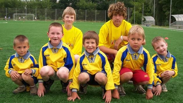Možné budoucí hvězdy mělnického fotbalu