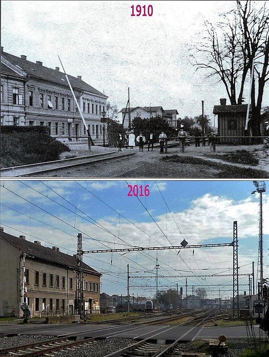 Buštěhradský přejezd.