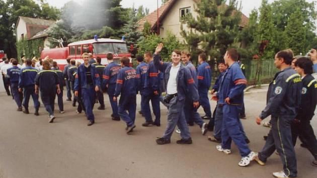 SOUTĚŽ O putovní pohár genereálního ředitele a.s. Vitana se v Byšicích koná každý rok.
