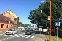 V Mělníku přibyly dva nasvícené, takzvané Oranžové přechody, které se nacházejí zhruba tři sta metrů od sebe v Bezručově ulici, na jedné z nejfrekventovanějších komunikacích ve městě.