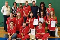 Mladší dorostenky BK Kralupy Junior obsadily na domácím turnaji třetí místo