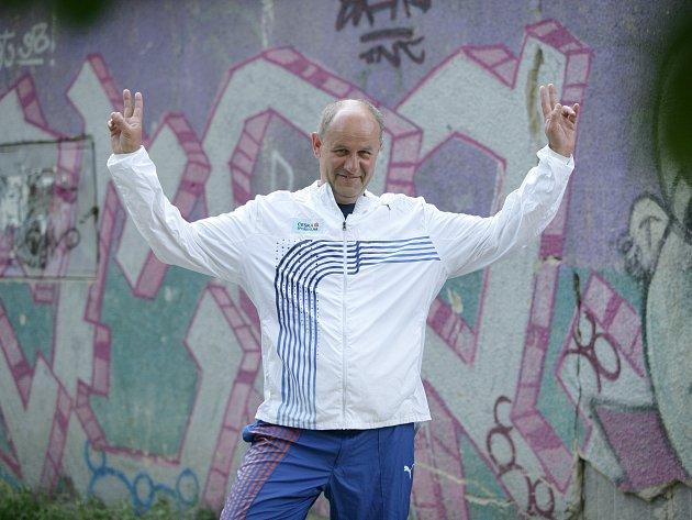 Ultramaratonec Martin Hunčovský