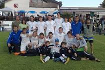 Dorostenci FK Pšovka Mělník na turnaji v Německu
