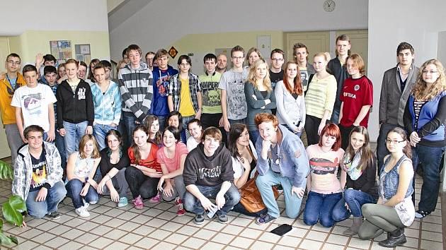 22ef2d64492 Studenti Gymnázia Františka Palackého píší reportáže - Mělnický deník