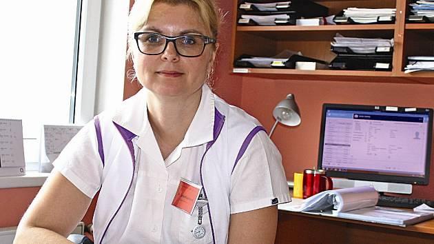 Šárka Kajumová pracuje v Domě Kněžny Emmy od jeho založení v květnu roku 2001.