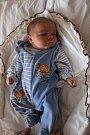 ŠTĚPÁN GUTH se rodičům Renatě Novákové a Martinu Guthovi z Nebužel, narodil 11. dubna 2018 v mělnické porodnici, měřil 51 cm a vážil 4,02 kg. Doma se těší na bratříčka František 2,5 roku.