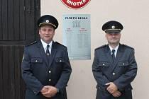 Oslavy devadesáti let Sboru dobrovolných hasičů ve Lhotce a Hleďsebi.