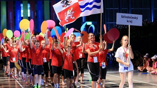 STŘEDOČESKÝ KRAJ bude na Hrách deváté letní olympiády dětí a mládeže reprezentovat 248 sportovců, o 27 méně než před dvěma lety v Jihomoravském kraji.