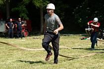 Soutěž v požárním útoku a zároveň dětský den pořádali dobrovolní hasiči z Kralup Minic.