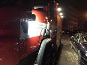 Zásahy slanských hasičů v souvislosti se silným větrem.