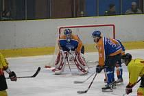 II. hokejová liga: Junior Mělník - Stadion Litoměřice