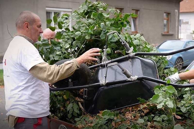 Dobrovolnický den skupiny ORLEN Unipetrol v Kralupech nad Vltavou.