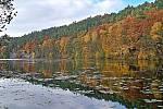 Podzimní zrcadlení.