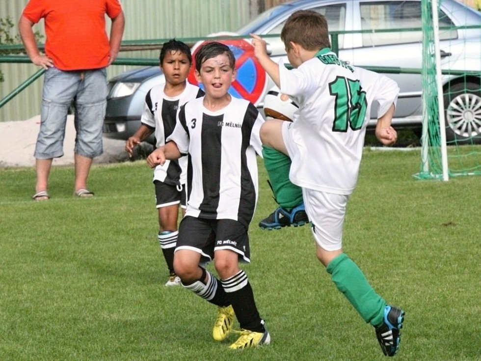 Minižáci FC Mělník a Sokola Cítov na Sporting Cupu 2013