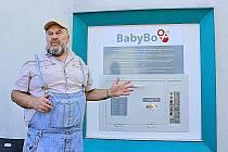 Ludvík Hess (na snímku) otevřel v Neratovicích pětačtyřicátý český babybox.