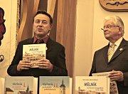 Jitka Čvančarová pokřtila novou knihu o Mělníku.