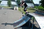 Skatepark na sídlišti Cukrovar v Kralupech nad Vltavou prochází v současné době kompletní rekonstrukcí.